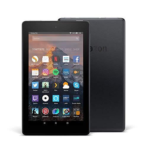 Fire 7-Tablet, 8 GB, Schwarz, mit Spezialangeboten (vorherige...