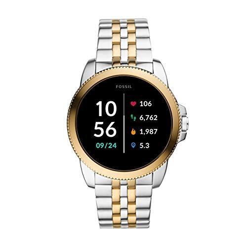 Fossil Herren Touchscreen Smartwatch 5E. Generation mit Lautsprecher,...