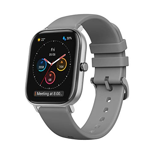 Amazfit Smartwatch GTS Fitness Armbanduhr 5 ATM wasserdicht Sportuhr...