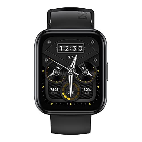 realme Watch 2 Pro 44mm Smartwatch Integriertes GPS, 90 Sportmodi 14...