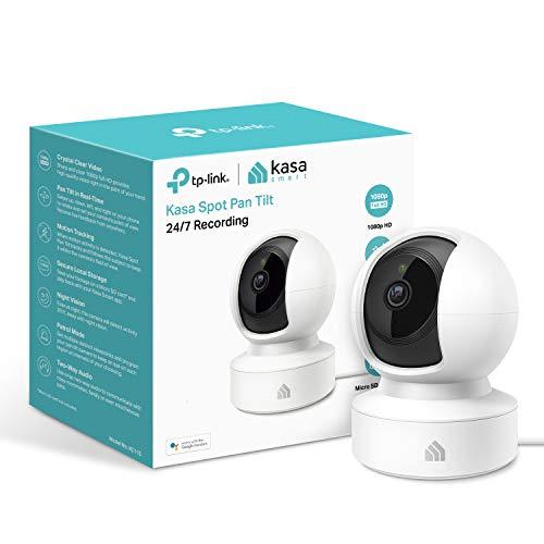 TP-LINK (KC115) Kasa Spot Indoor Wireless Surveillance Camera, 1080p,...