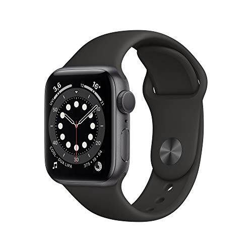 AppleWatch Series6 (GPS, 40mm) Aluminiumgehäuse Space Grau,...