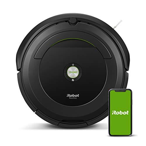 iRobot Roomba 696 Saugroboter (reinigt alle Hartböden und Teppiche,...