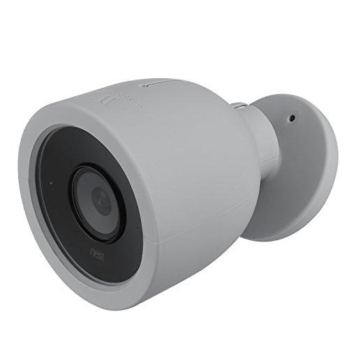 Nest Cam IQ Outdoor Hülle - Bunte Silikon Skins Kompatibel mit Nest...