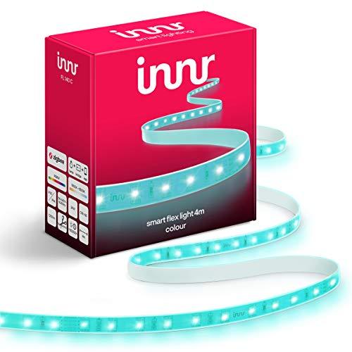 Innr Flex Light Color, 4m Smart LED Streifen, kompatibel mit Philips...