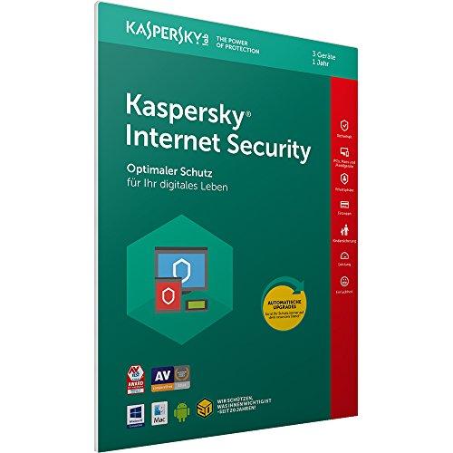 Kaspersky Internet Security 2018 Standard | 3 Geräte | 1 Jahr |...