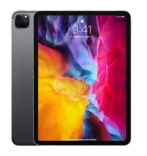 2020 Apple iPad Pro (11', Wi-Fi, 256GB) - Space Grau (2. Generation)