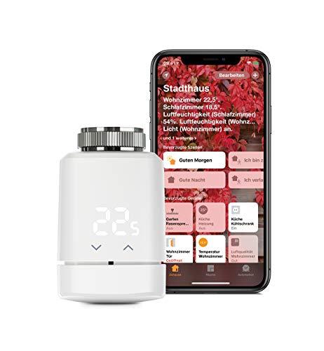 Eve Thermo - Smartes Heizkörperthermostat mit LED-Display,...