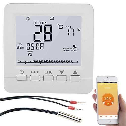 revolt Raumthermostat: WLAN-Fußbodenheizung-Thermostat, für Siri,...