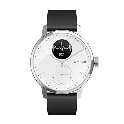 Withings ScanWatch Hybrid Smartwatch mit EKG, Herzfrequenzsensor und...