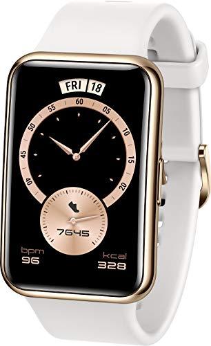 HUAWEI WATCH FIT Elegant Smartwatch, 1,64 Zoll AMOLED-Display,...