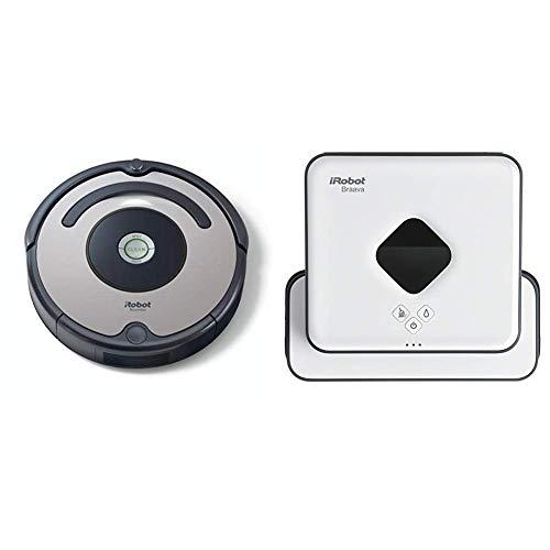 IRobot Roomba 615 Saugroboter (hohe Reinigungsleistung) grau/schwarz +...