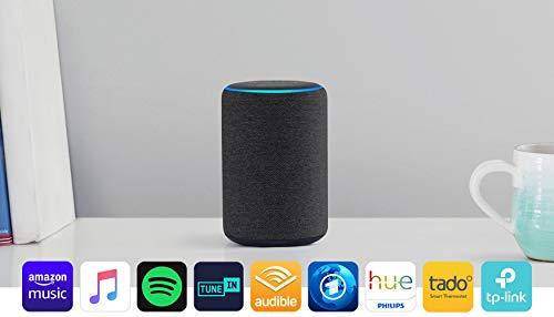 Echo Plus (2. Gen.), mit Premiumklang und integriertem Smart Home-Hub,...