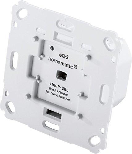 Homematic IP Smart Home Jalousieaktor für Markenschalter,...