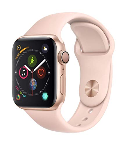 Apple Watch Series 4 (GPS, 40mm) Aluminiumgehäuse Gold - Sportarmband...