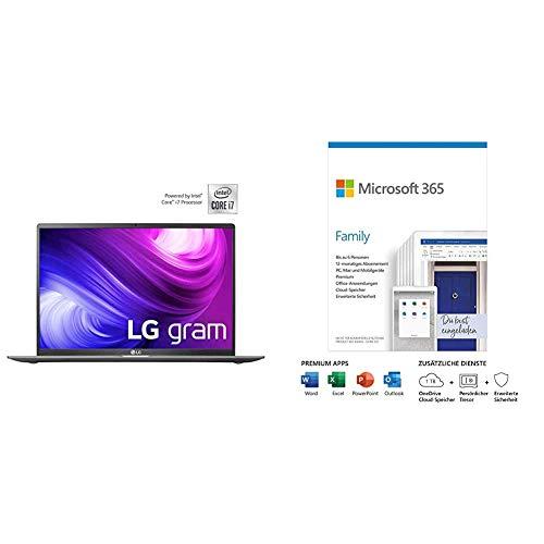 LG Gram 17 Zoll Ultralight Notebook - 1,35 kg Leichter Intel Core i7...