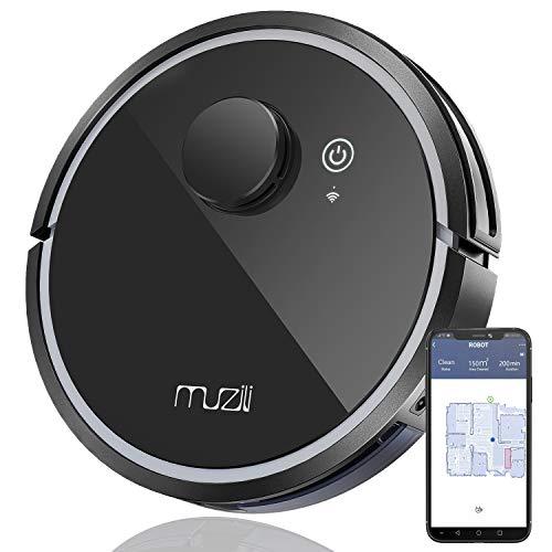 Muzili saugroboter mit wischfunktion, WLAN Intelligent Navigierter...