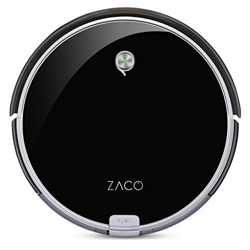 ZACO A6 Saugroboter, Lamellen-Bürste für Tierhaare, automatischer...
