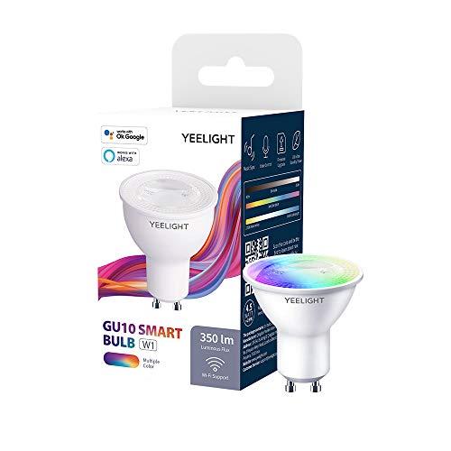 Yeelight GU10 W1 Wifi-Lampe, 4,5 W 350 Lumen Kein Hub erforderlich...