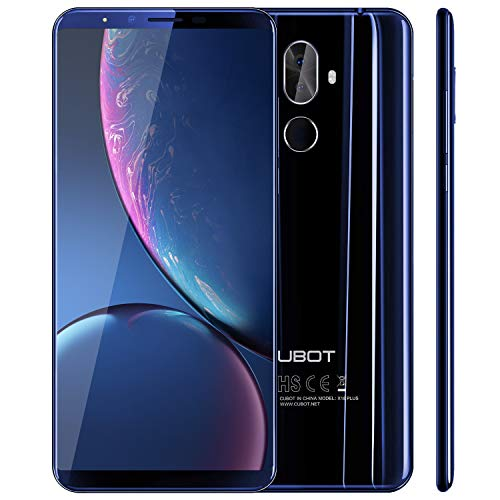 CUBOT X18 Plus (2018) Android 8.0 4G-LTE Dual SIM Smartphone ohne...