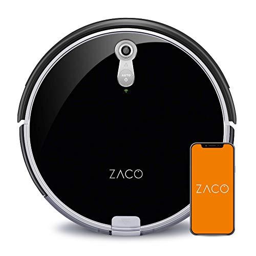 ZACO A8s Saugroboter mit Wischfunktion, App & Alexa Steuerung, 7,2cm...