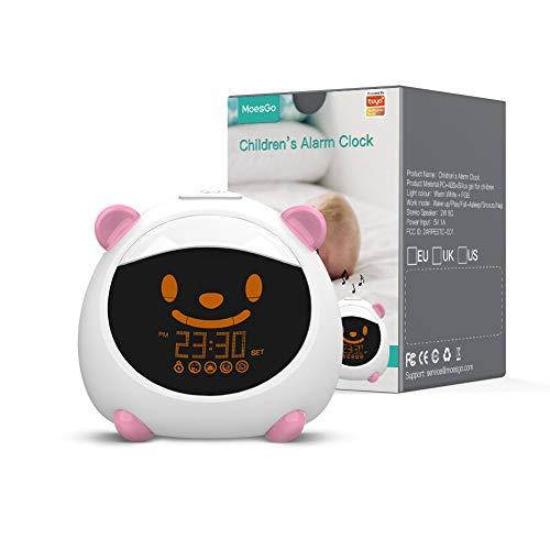 MoesGo Kinderwecker und intelligenter Schlaflerntrainer mit...