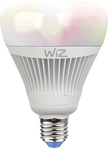 Smartes LED-Leuchtmittel von WiZ; Kolbenform G100 (E27), weiß +...