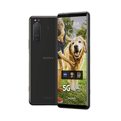 Sony Xperia 5 II 5G Smartphone (15,5 cm (6.1 Zoll) 21:9 CinemaWide...