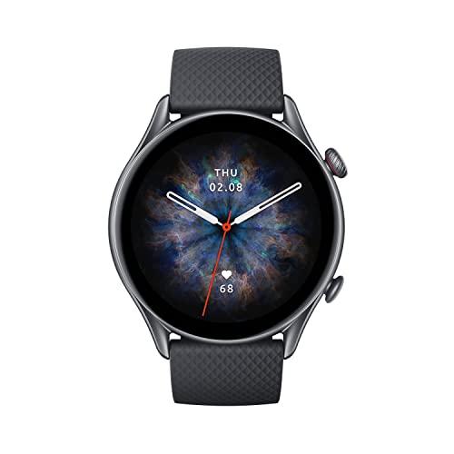 Amazfit Smartwatch GTR 3 Pro 1,45 Zoll AMOLED-Display Fitness Watch...