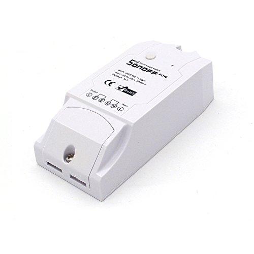 Sonoff,Sonoff Pow, Energetischer Monitor für Smart Home, Weiß,...