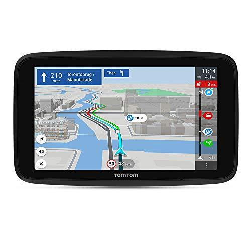 TomTom Navigationsgerät GO Discover (7 Zoll, Stauvermeidung dank...