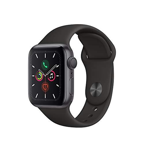 Apple Watch Series 5 (GPS, 40 mm) Aluminiumgehäuse Space Grau -...