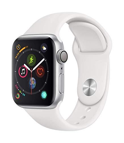 Apple Watch Series 4 (GPS, 40mm) Aluminiumgehäuse Silber -...