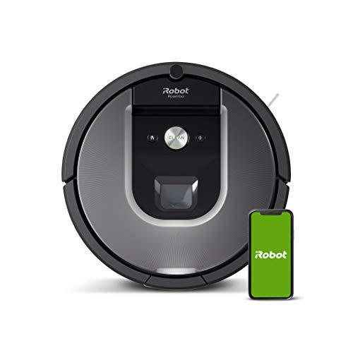 iRobot Roomba 960 Saugroboter mit starker Saugkraft, 2...
