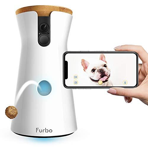 FURBO HUNDEKAMERA: Full HD WiFi Haustierkamera mit Leckerli Ausgabe,...