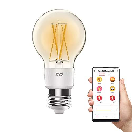 Yeelight warmes Faden-Licht, 2700K dimmbare 6W intelligente LED Wifi...