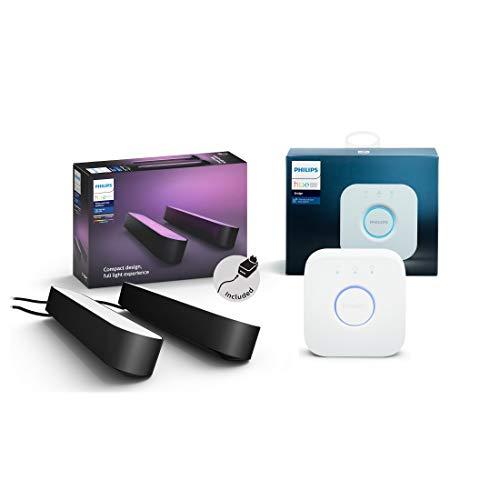 Philips Hue White and Color Ambiance Play Lightbar 2-er Pack inkl. Hue...