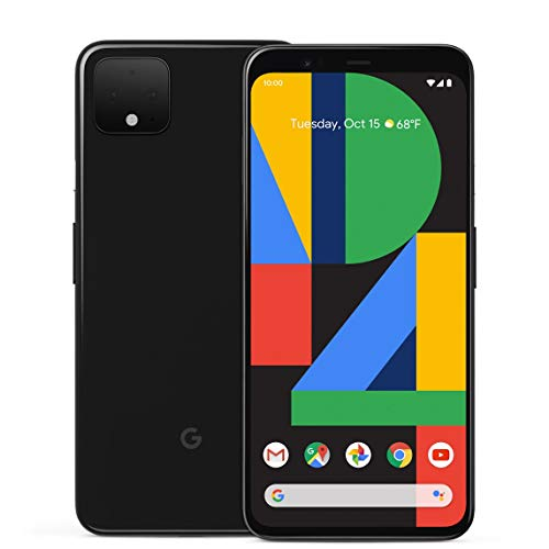 Google Pixel 4 64GB Handy, schwarz, Just Black, Android 10