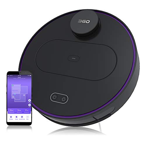 360 Robot Vacuum and Mop Cleaner, Works with Alexa, Intelligent...