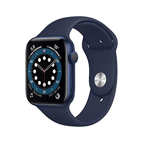 AppleWatch Series6 (GPS, 44mm) Aluminiumgehäuse Blau,...