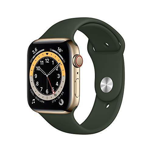 AppleWatch Series6 (GPS+ Cellular, 44mm) Edelstahlgehäuse...