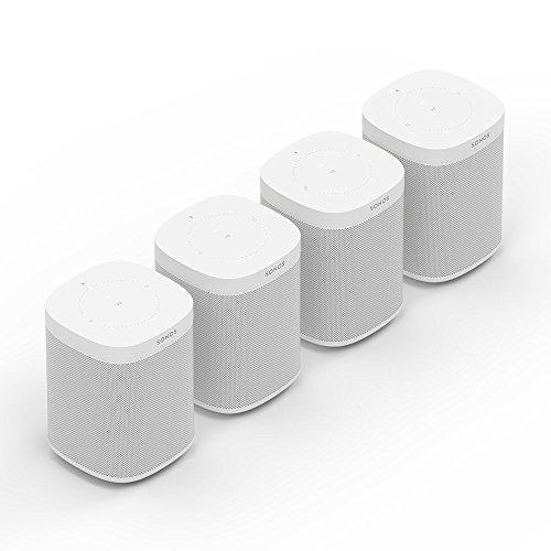 Sonos One | Smart Speaker mit Alexa Sprachsteuerung | Starterpaket...