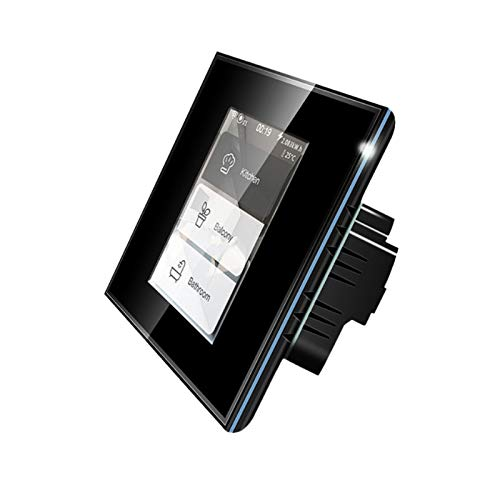 Smart Rollladenschalter Wifi Touch Licht Vorhang Schalter 4 in 1 Home...