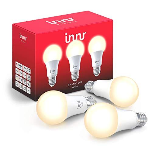 Innr E27 Smart LED Lampe, warmweiß, kompatibel mit Philips Hue* &...