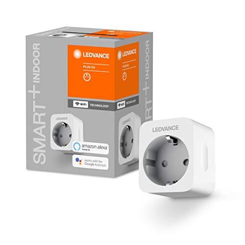 LEDVANCE Smart+ Schaltbare Steckdose für WiFi, mit Strom Vermessung,...