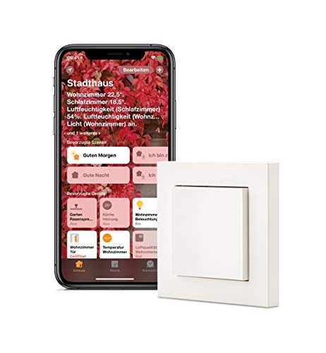 Eve Light Switch (Vorgängerversion) - Smarter Lichtschalter,...