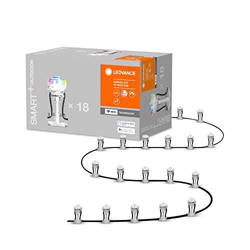 LEDVANCE Smarte LED Gartenleuchte mit WiFi Technologie, Basispaket mit...