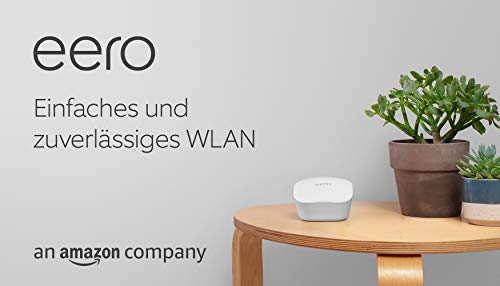 Amazon eero WLAN-Mesh-System – 3er-Set
