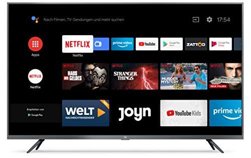 Xiaomi Mi Smart TV 4S 43 Zoll (4K Ultra HD, Triple Tuner, Android TV...