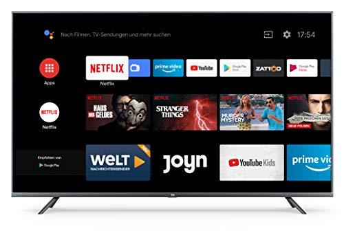 Xiaomi Mi Smart TV 4S 55 Zoll (4K Ultra HD, Triple Tuner, Android TV...